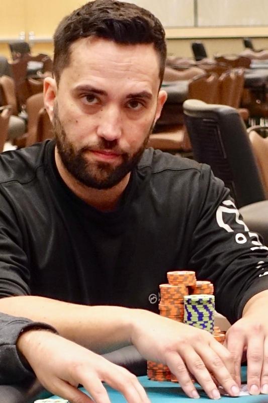 Joseph Hebert. Photo credit: Seminole Hard Rock Tampa poker blog.