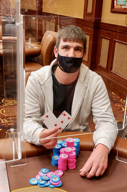 William Firebaugh - Credit: South Point Poker Room Twitter Account