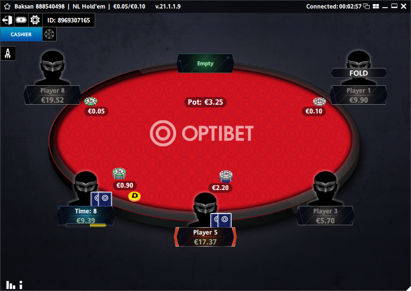 optibet table